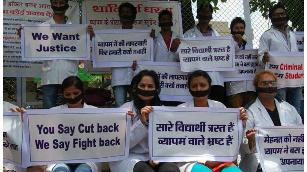 Escândalo em vestibular indiano tem milhares de prisões e mortes ...