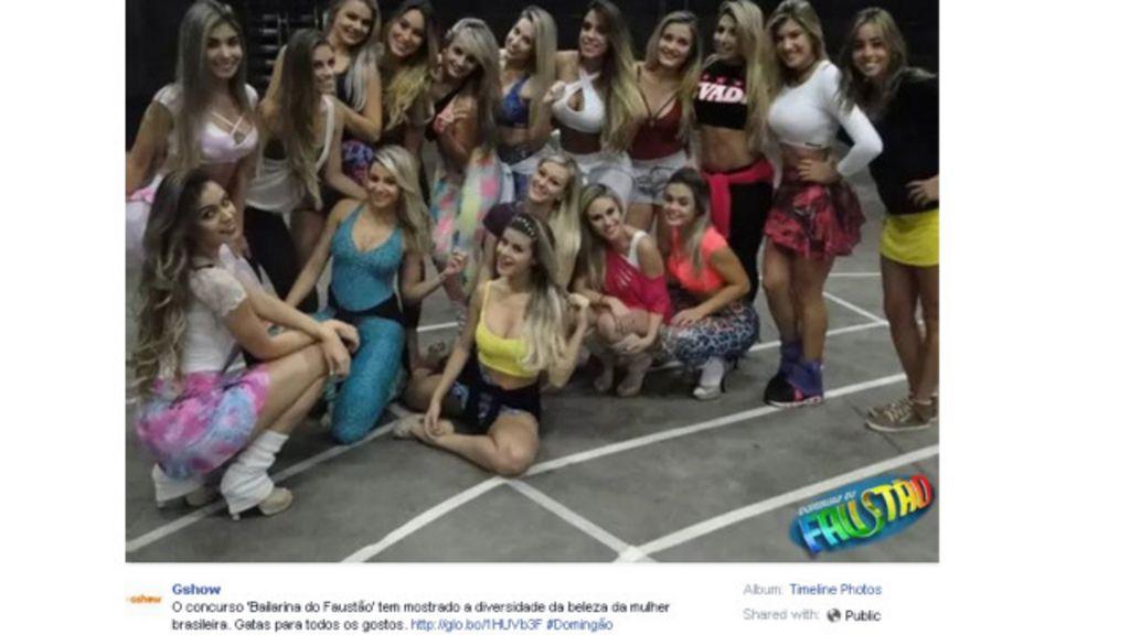 TV Globo nega racismo em foto sobre 'diversidade' só com ...