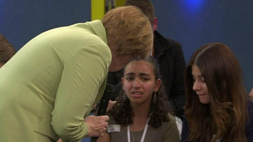 Merkel é criticada por resposta a criança palestina - BBC Brasil