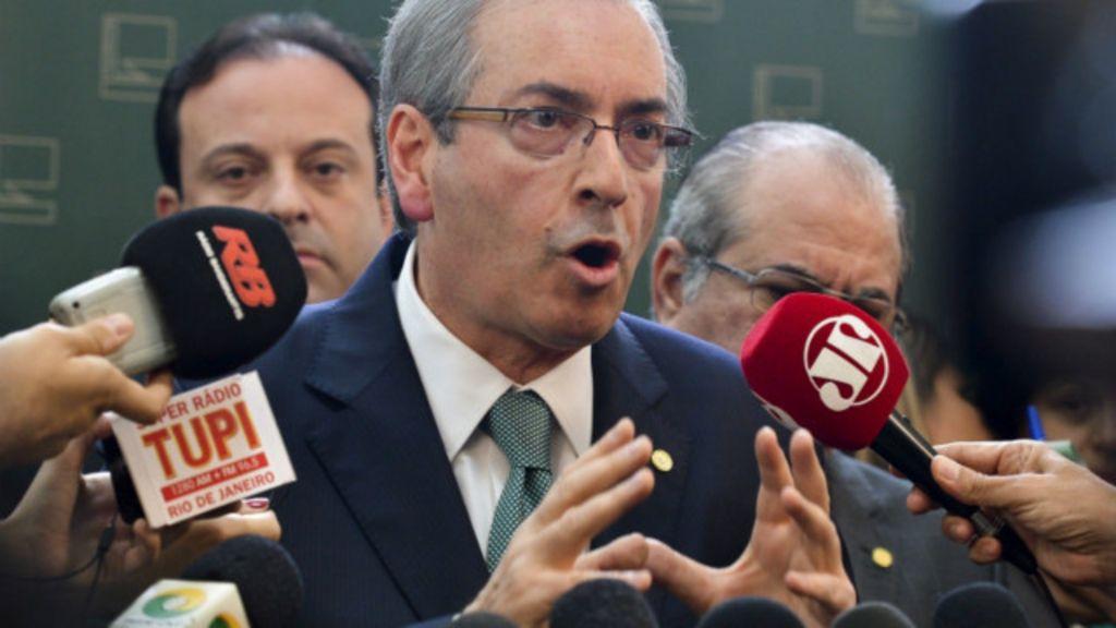 Em dia de pronunciamento, Cunha anuncia ruptura com governo e ...