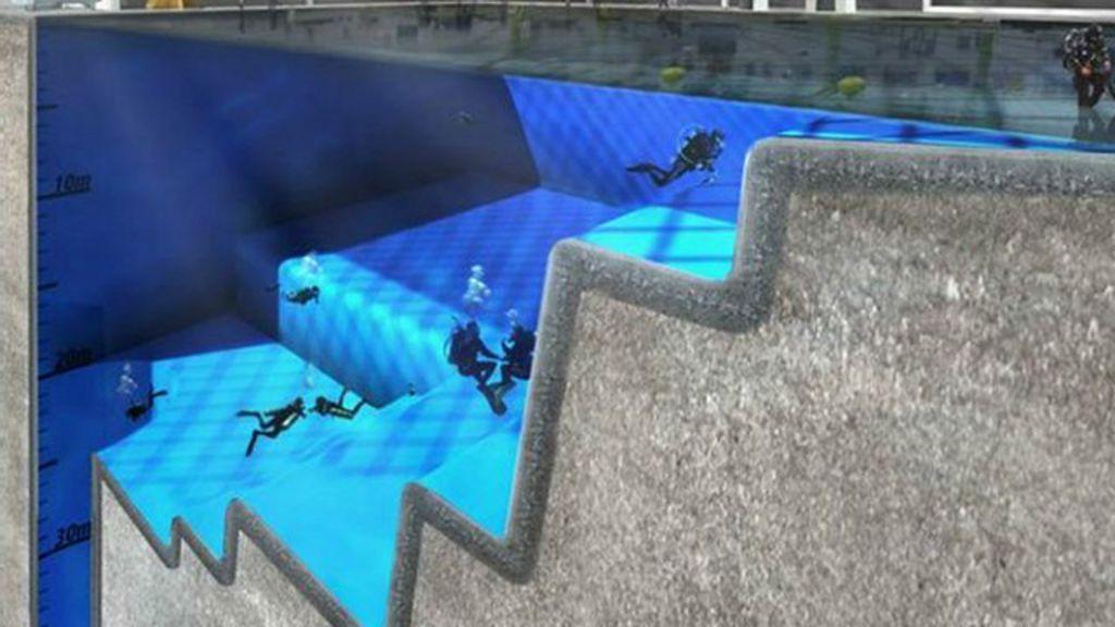 C mo ser la piscina m s profunda del mundo bbc mundo for Piscina mas profunda del mundo