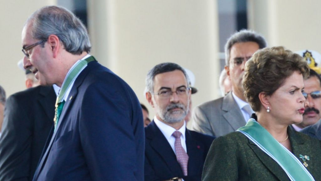 STF suspende trâmite de Cunha para impeachment - BBC Brasil