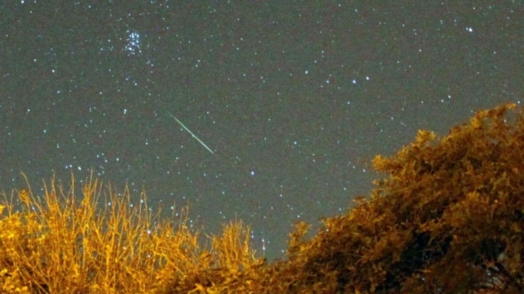 Chuva de meteoros terá melhor observação em oito anos - BBC Brasil