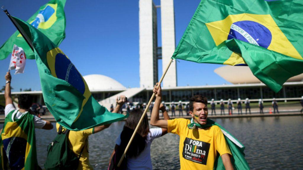 Protestos do dia 16 vão poupar Cunha e focar em impeachment ...