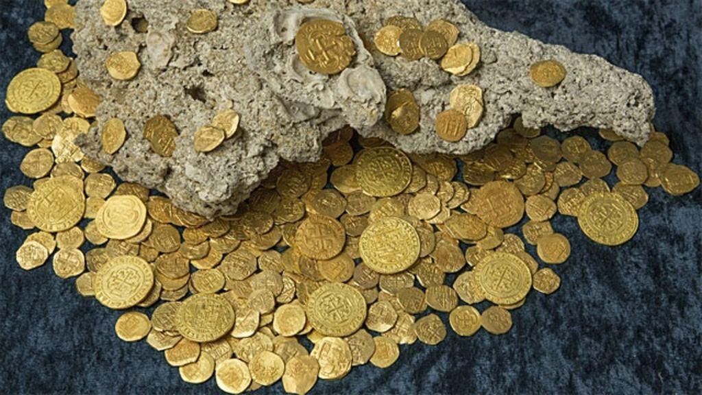 Caçadores de tesouros encontram US$ 4,5 milhões em moedas de ...