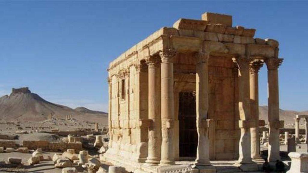 Templo histórico em Palmira 'é destruído por Estado Islâmico' - BBC ...