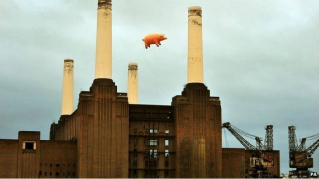 Porco de capa de álbum do Pink Floyd vai a leilão - BBC Brasil