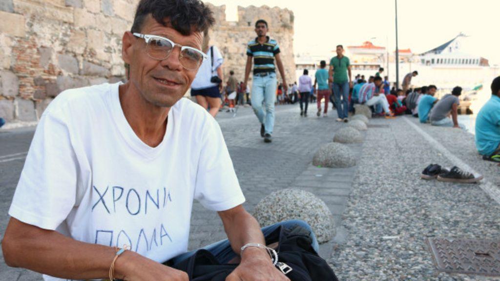 'Que diferença faz morrer na Síria ou no mar?', diz refugiado que ...