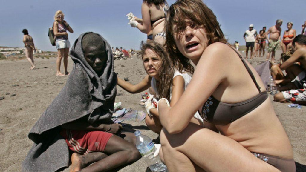 10 fotos chocantes da crise dos imigrantes - BBC Brasil