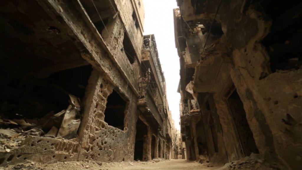 BBC mostra destruição na Síria que refugiados deixam para trás ...