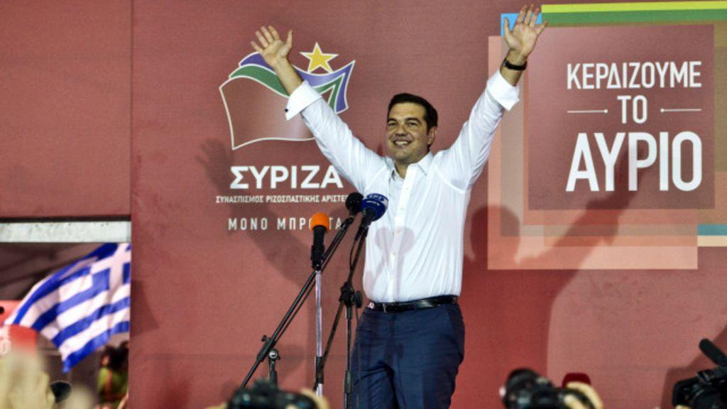 Grécia: urnas voltam a apoiar governo de esquerda - BBC Brasil