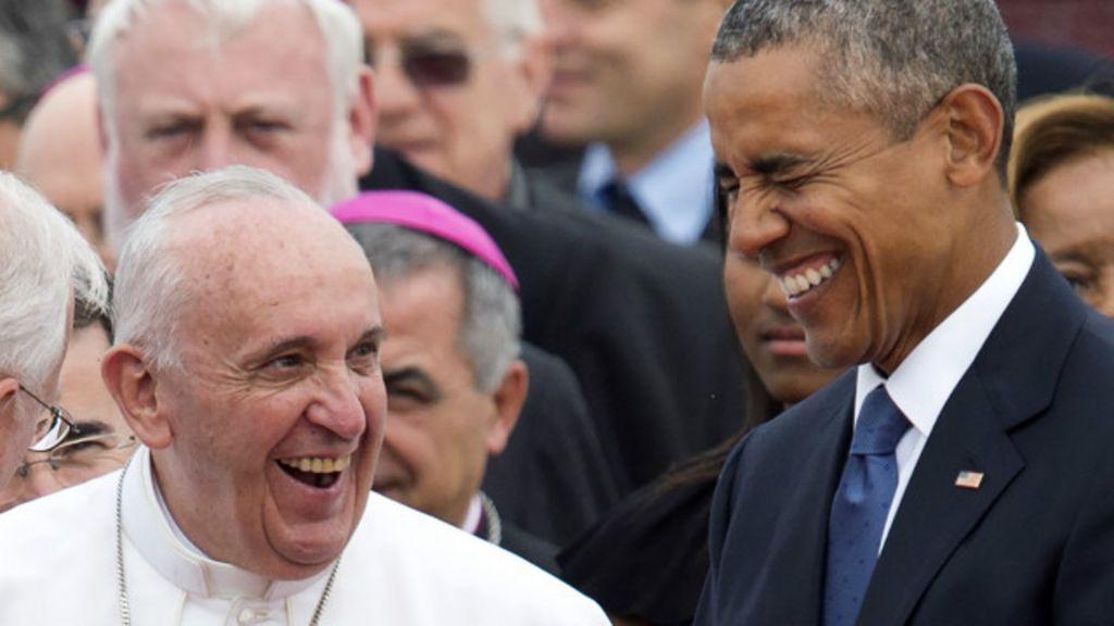 A polêmica lista de convidados da Casa Branca para visita do papa ...