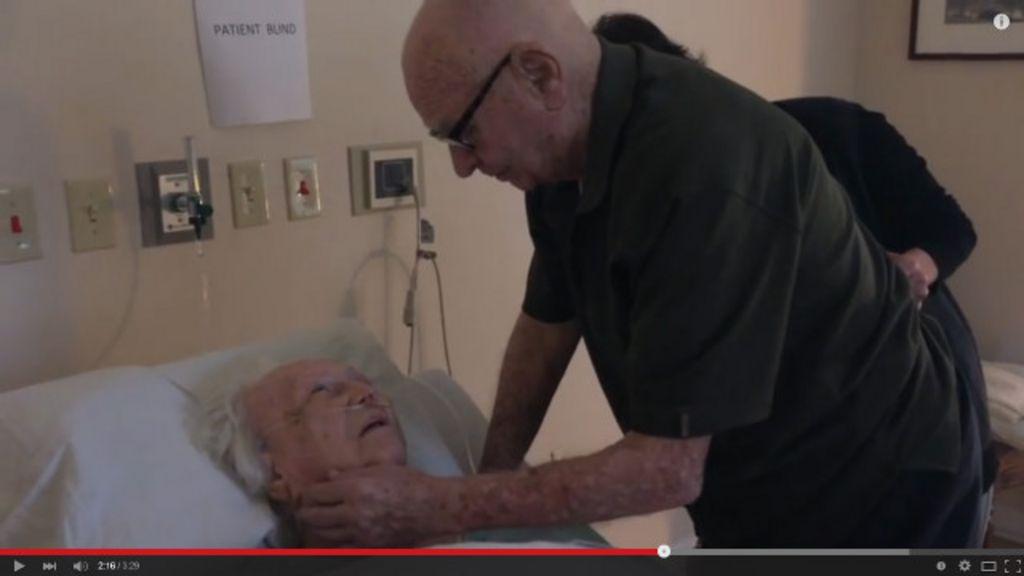'Acho que o amor tocou as pessoas', diz mulher que filmou avô ...