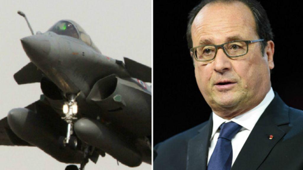 França lança 1º ataque aéreo contra 'EI' na Síria - BBC Brasil