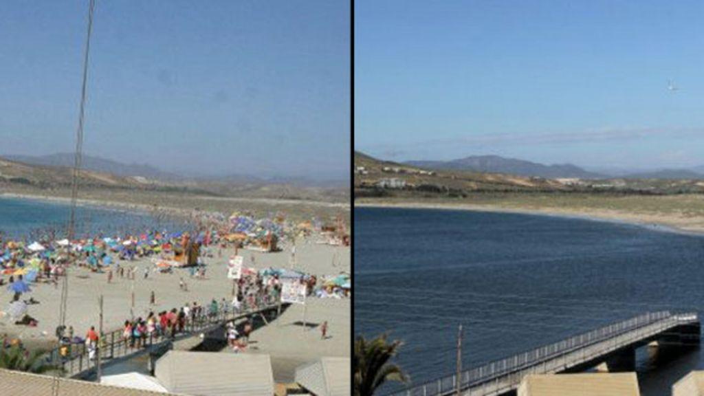 A praia que sumiu do mapa após terremoto no Chile - BBC Brasil