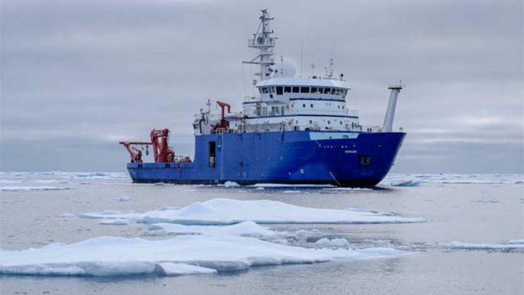 'Turbilhões' no Ártico trazem calor das profundezas e aceleram ...