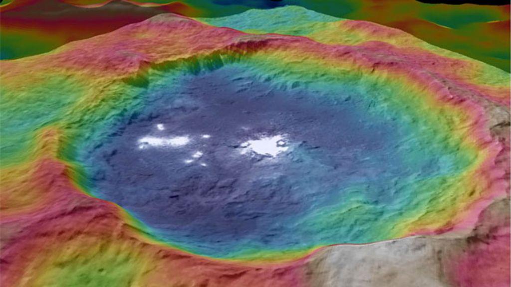 Pontos misteriosos em imagens de planeta anão intrigam a Nasa ...