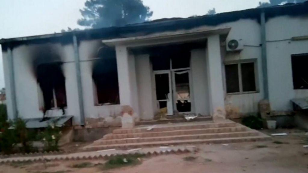 Vídeo mostra destruição de hospital do MSF atingido por ataques ...