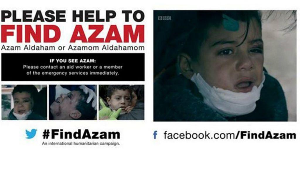 Milhares se engajam em busca por garoto sírio de 5 anos perdido ...