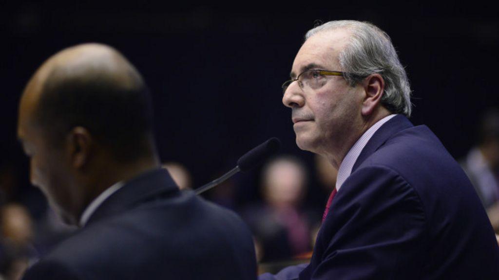 Os vários cenários para Cunha em semana decisiva - BBC Brasil