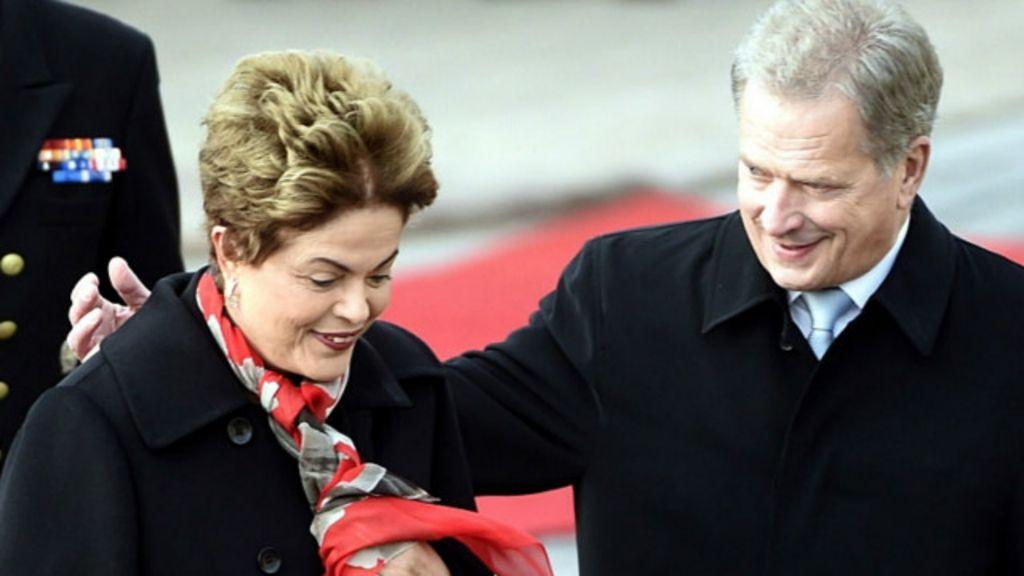 Encontro de Dilma com presidente acusado de corrupção vira piada ...