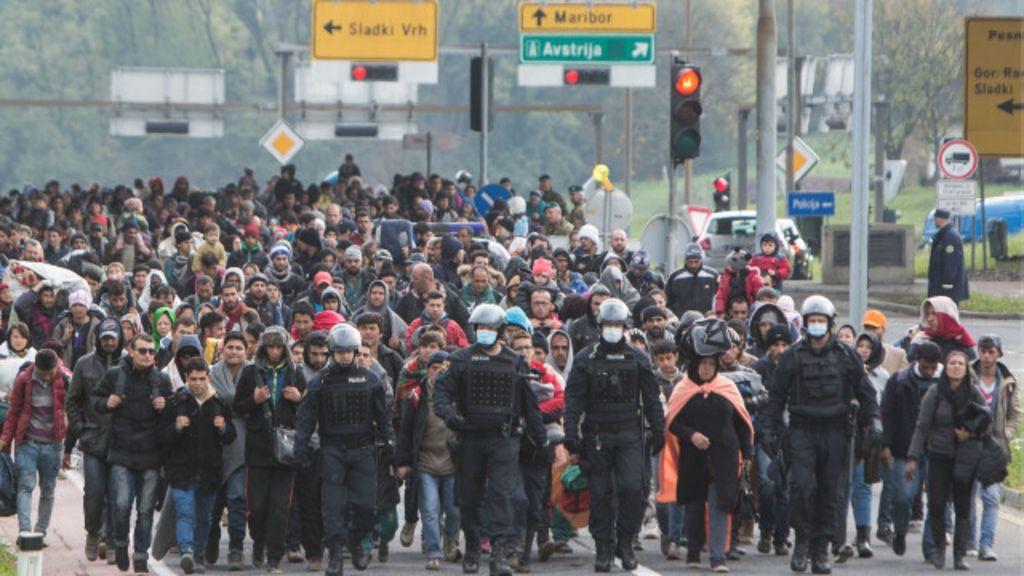 'mega- fechamento' de fronteiras contra refugiados