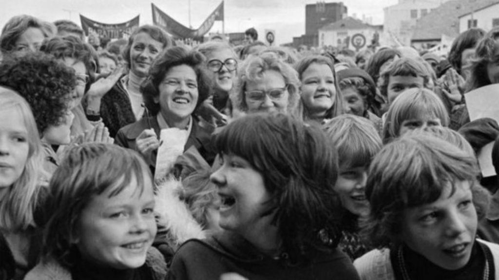 A greve geral de mulheres que tornou Islândia o país 'mais feminista ...