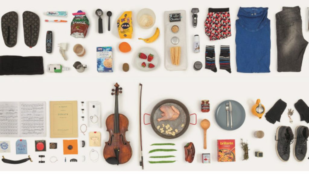 Fotógrafa registra todos os objetos tocados ao longo de um dia por ...