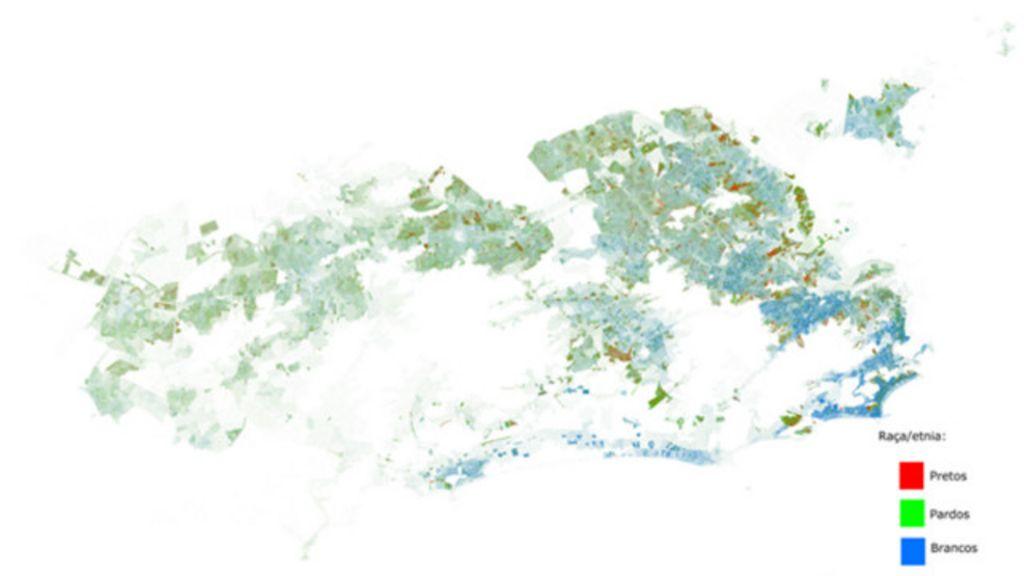 5 mapas e 4 gráficos que ilustram segregação racial no Rio de ...