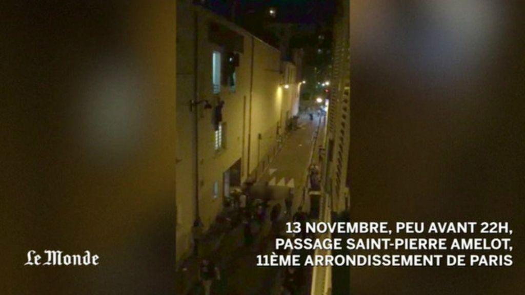 Ataques em Paris: vídeo mostra fuga desesperada de casa de shows