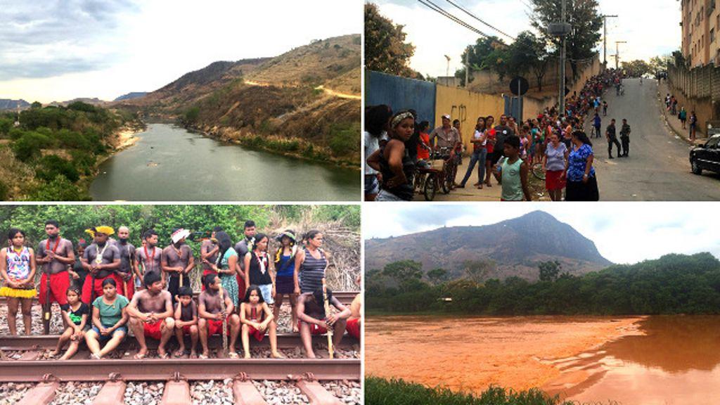 A expedição da BBC Brasil pelo rio Doce em 11 imagens - BBC Brasil