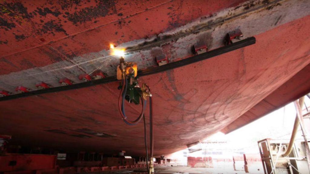 o truque da engenharia para ampliar navios de cruzeiro