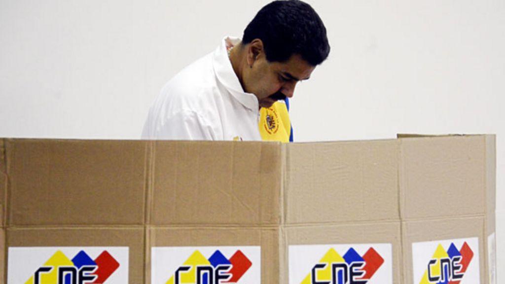 encuestas sobre las elecciones en venezuela: