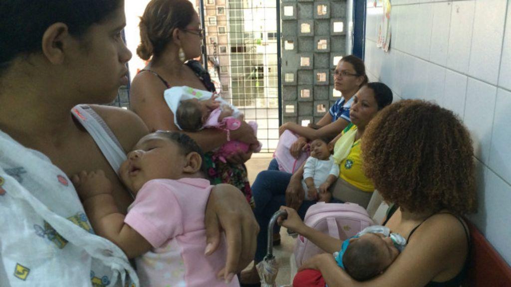 ' crianças em coma' após zika