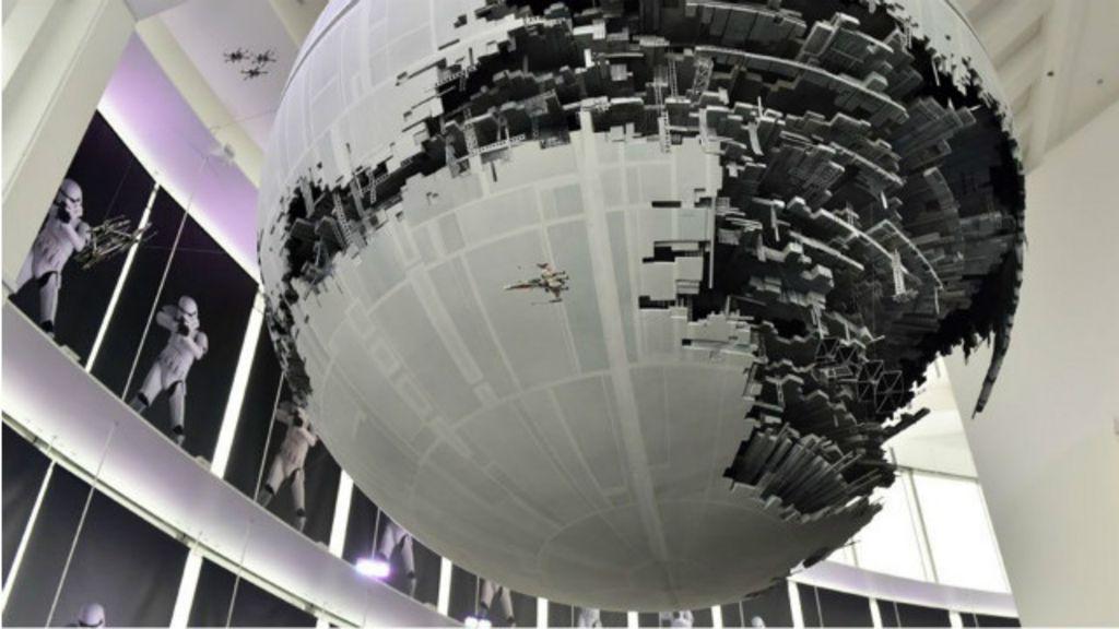 'Guerra nas Estrelas' calculam custo para construir Estrela da Morte