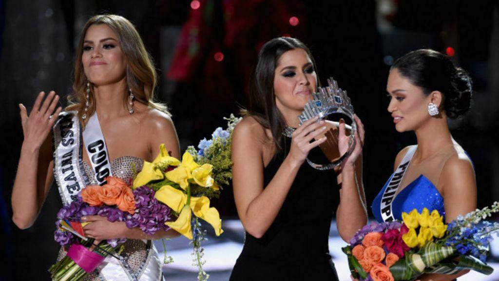 El error de Miss Universo 2015 y otras meteduras de pata en ...