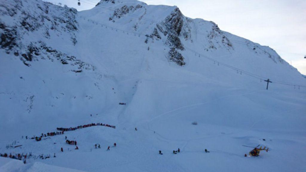 Avalanche atinge grupo de alunos de esqui nos Alpes franceses ...