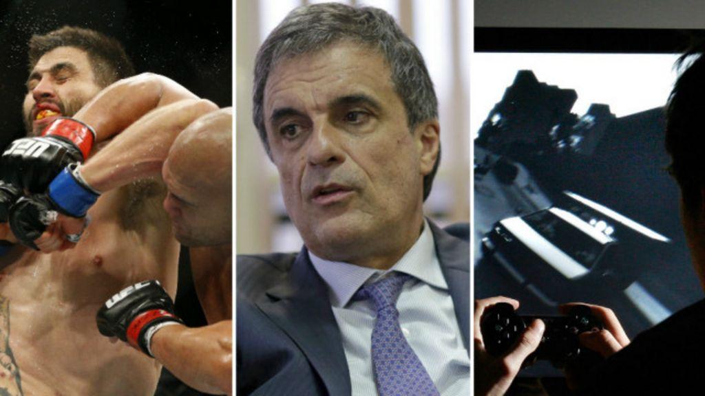 ' Violência é aplaudida em esportes e games', diz ministro da Justiça ...