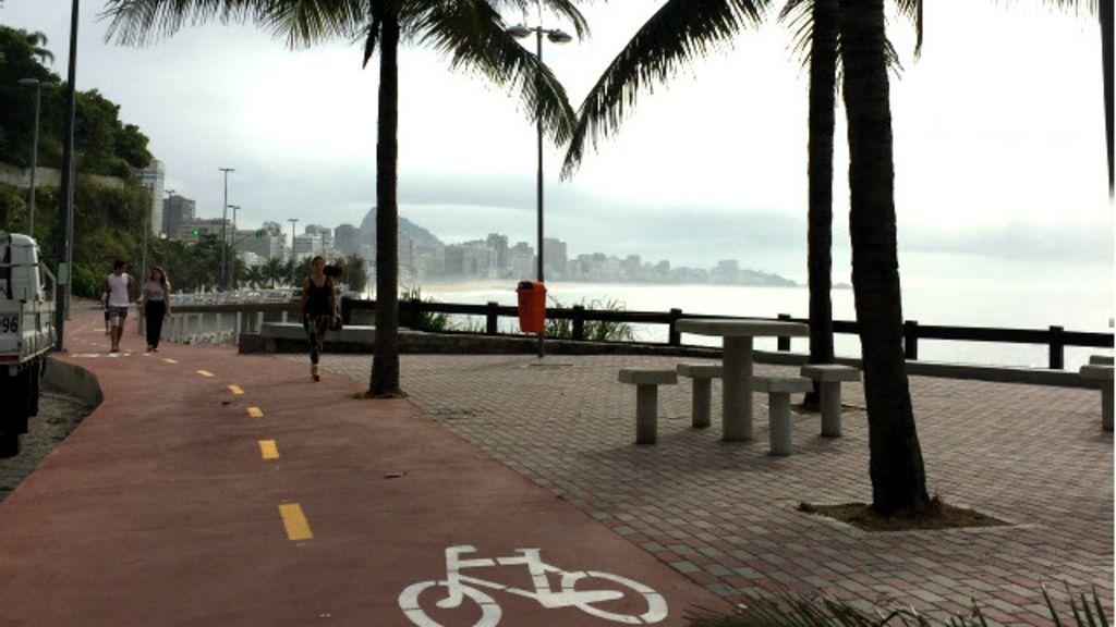 Nova ciclovia do Rio permite pedalar entre mar e mata atlântica ...