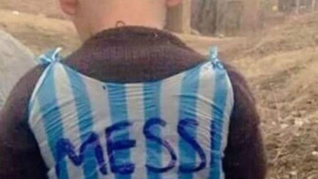 O mistério do ' fã número 1 de Messi' cuja foto viralizou nas redes ...