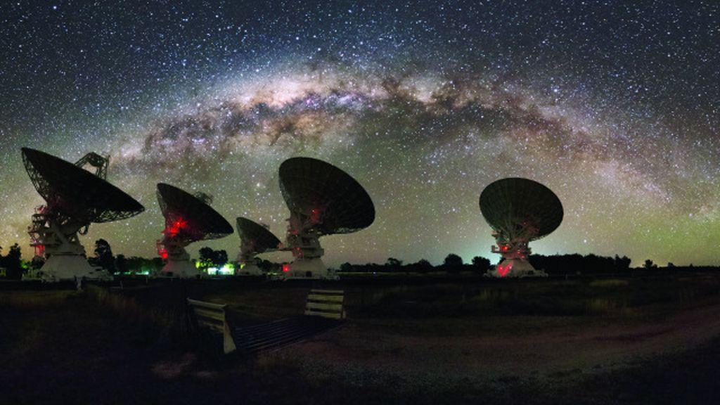 A misteriosa estrutura espacial gigante invisível que intriga astrônomos - BBC Brasil
