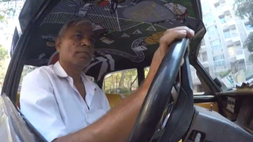 'memoráveis', táxis passam por mudança colorida em Mumbai