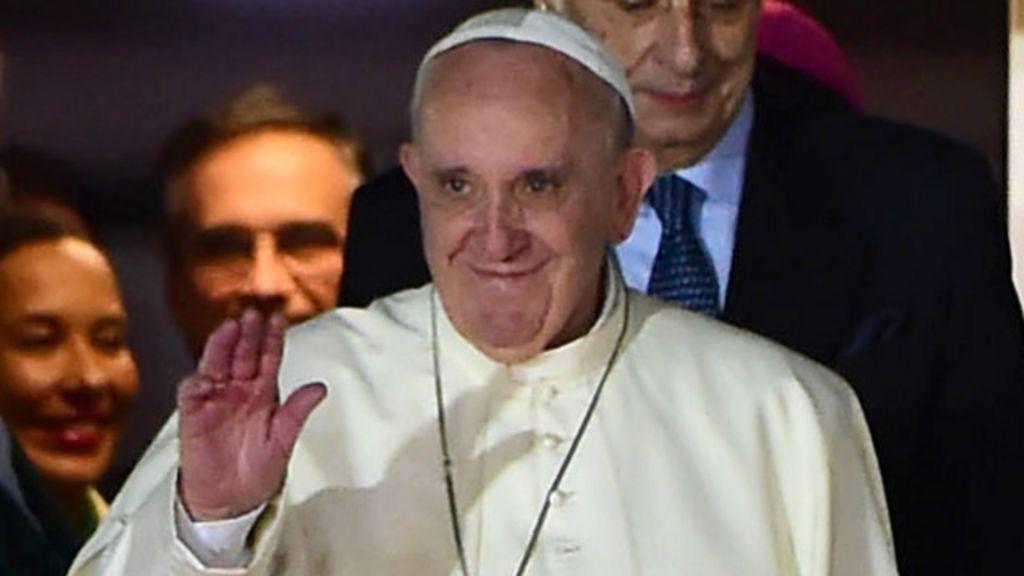 México, el país roto al que llega el papa Francisco - BBC Mundo