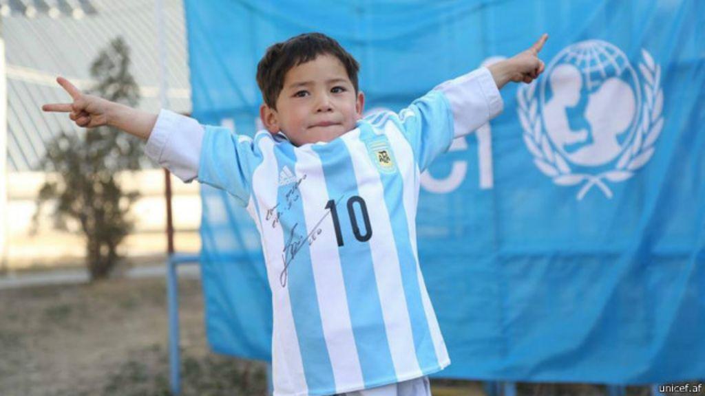 Poşet formalı Messi' gerçek formaya kavuştu