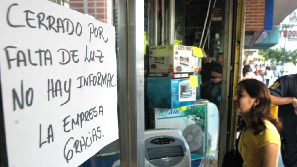 Venezuela empleados p blicos trabajar n de 7 30am a 1 for Racionamiento de luz en aragua