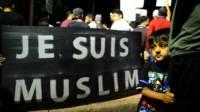 Manifestación en rechazo a la violencia