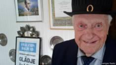 Lennart, candidato de 98 anos de idade / Crédito: Sveriges Radio