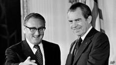 Henry Kissinger y Richard Nixon