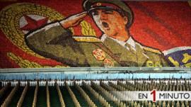 Exhibición militar en Corea del Norte