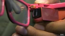 Proyector de las gafas inteligentes de Toshiba
